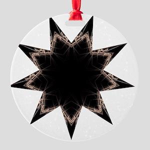 Aeon Dark Round Ornament