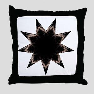 Aeon Dark Throw Pillow