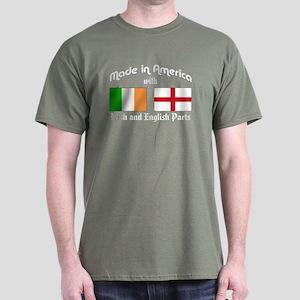 Irish & English Parts Dark T-Shirt