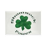 Shamrock Power Rectangle Magnet (100 pack)