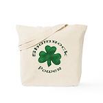Shamrock Power Tote Bag