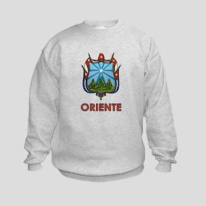 Escudo de Oriente Kids Sweatshirt