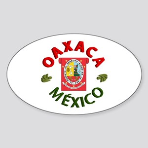 Oaxaca Oval Sticker