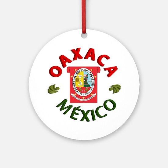 Oaxaca Ornament (Round)