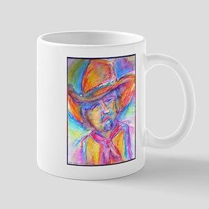 Colorful cowboy art Mugs