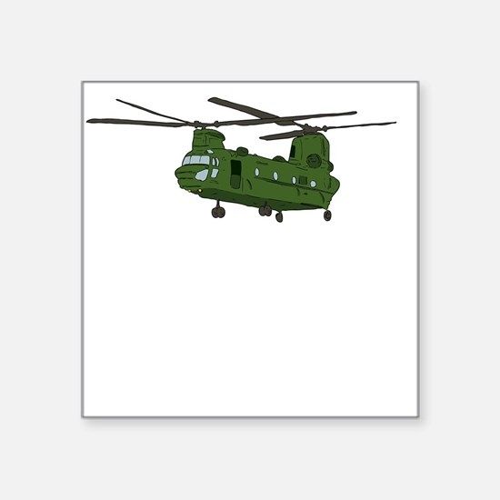 Chinook Helicopter Sticker
