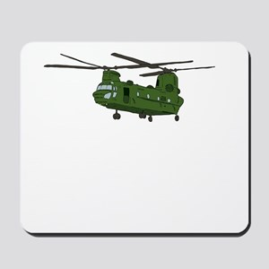 Chinook Helicopter Mousepad