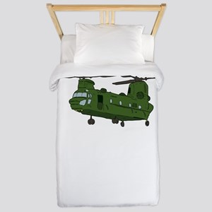 Chinook Helicopter Twin Duvet