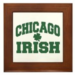 Chicago Irish Framed Tile