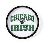 Chicago Irish Wall Clock