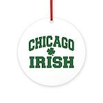 Chicago Irish Ornament (Round)