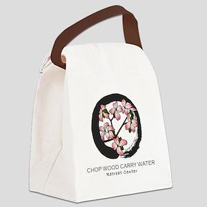 LOGO Chop Wood Carry Water Retrea Canvas Lunch Bag