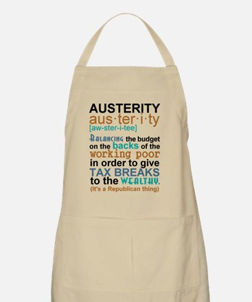 Austerity Republican Thing Apron