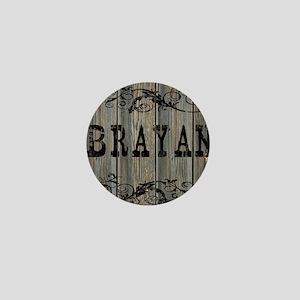 Brayan, Western Themed Mini Button