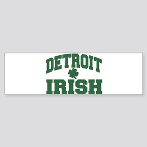 Detroit Irish Bumper Sticker