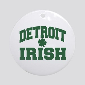 Detroit Irish Ornament (Round)