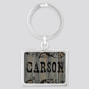 Carson, Western Themed Landscape Keychain
