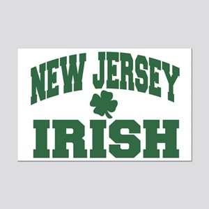 New Jersey Irish Mini Poster Print