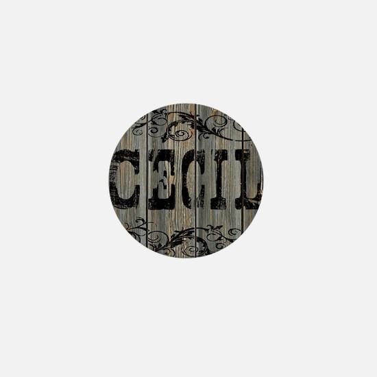 Cecil, Western Themed Mini Button
