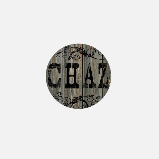 Chaz, Western Themed Mini Button