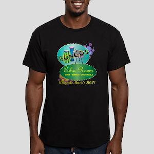 BONGOS CUBA ROOM RETRO Men's Fitted T-Shirt (dark)