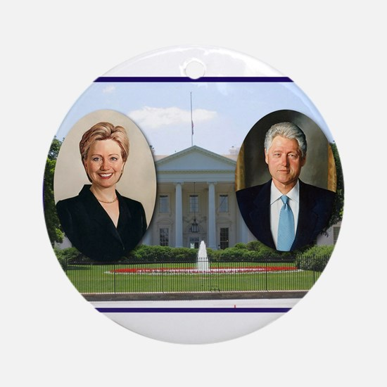 Madame President & Mr. President Ornament (Round)