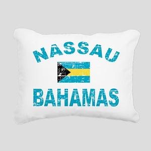 BAHAMAS Rectangular Canvas Pillow