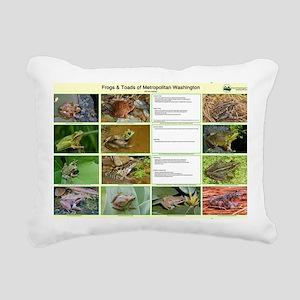 frog Rectangular Canvas Pillow
