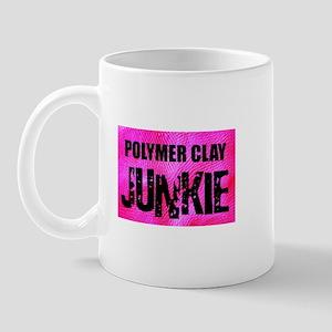 Polymer Clay Junkie Mug