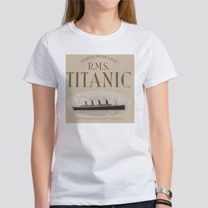 RMS Titanic Sepia Women's T-Shirt