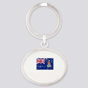 CAYMAN ISLANDS1 Oval Keychain