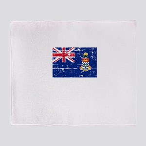 CAYMAN ISLANDS1 Throw Blanket