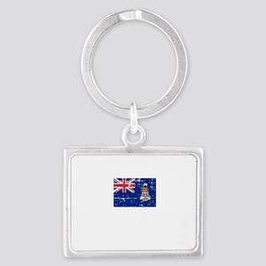 CAYMAN ISLANDS1 Landscape Keychain