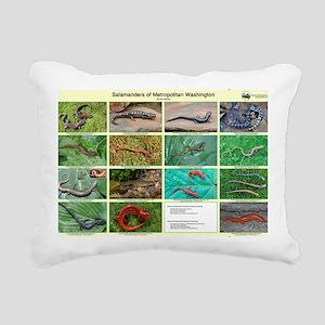 poster salamander Rectangular Canvas Pillow