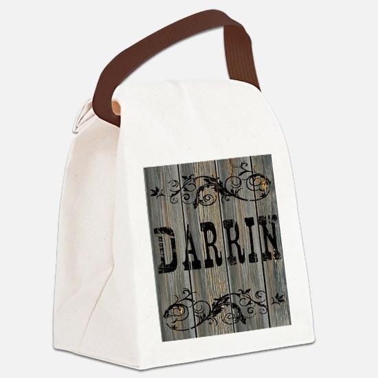 Darrin, Western Themed Canvas Lunch Bag