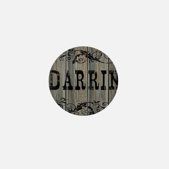 Darrin, Western Themed Mini Button