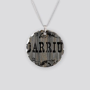 Darrius, Western Themed Necklace Circle Charm