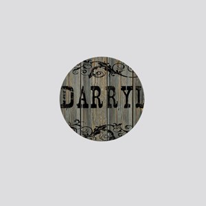 Darryl, Western Themed Mini Button