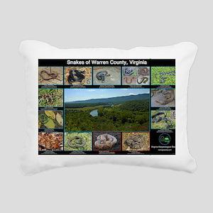snakes warren co Rectangular Canvas Pillow