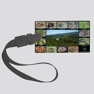 snakes warren co Large Luggage Tag