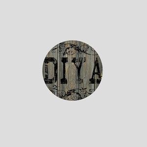 Diya, Western Themed Mini Button