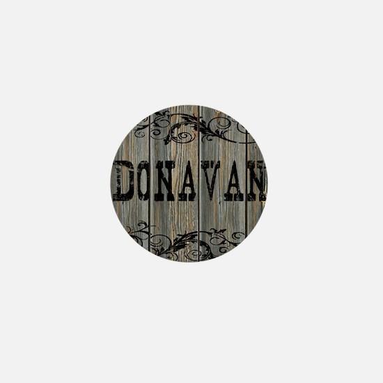 Donavan, Western Themed Mini Button