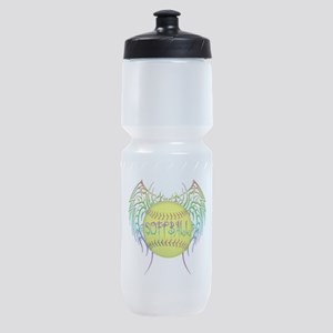 Buffy softball png Sports Bottle