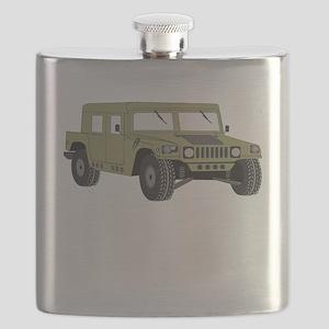 Military Humvee Flask