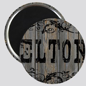 Elton, Western Themed Magnet