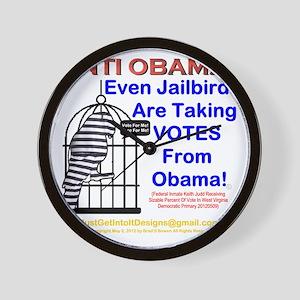 Anti Obama: 001 Wall Clock