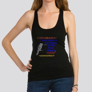 Anti Obama: 001 Racerback Tank Top