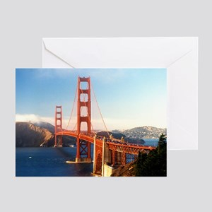 Golden Gate Bridge Greeting Cards (Pk of 10)