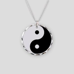 yinyanglightNew Necklace Circle Charm