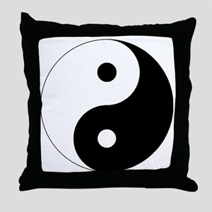 yinyanglightNew Throw Pillow